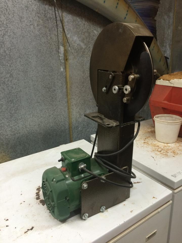 taxidermy fleshing machine
